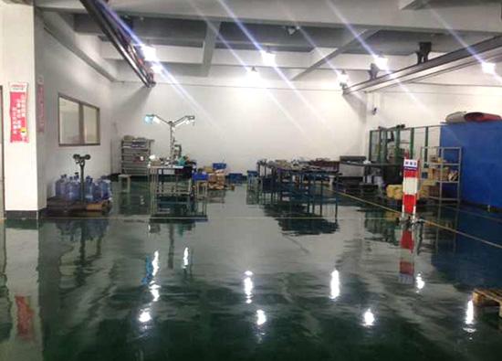 丽固地坪案例项目:苏州安固科技责任有限公司