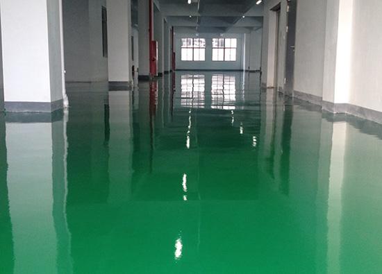 丽固地坪案例项目:苏州吴中区博克集团有限公司