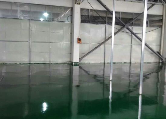 丽固地坪案例项目:苏州施强医疗器械有限公司