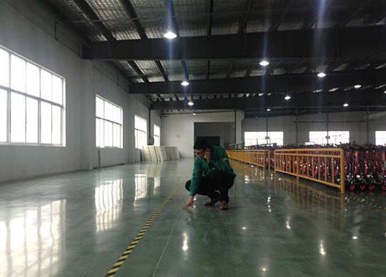 丽固地坪案例项目:昆山小小恐龙集团有限公司