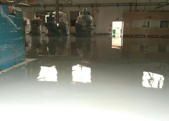 丽固地坪案例项目:太仓华易塑胶有限公司