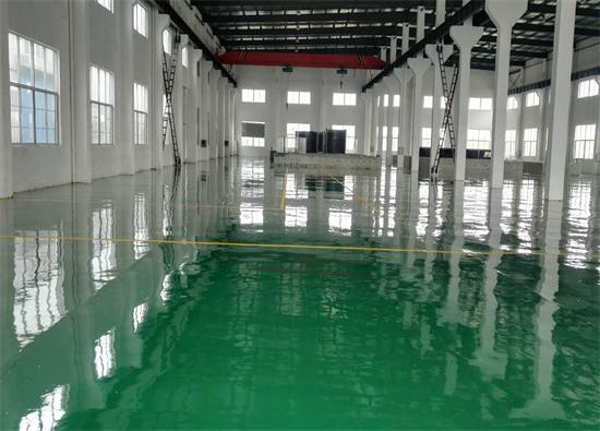 丽固地坪案例项目:张家港乐盛水族科技发展有限公司