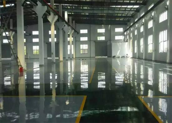 丽固地坪案例项目:张家港方圣机械