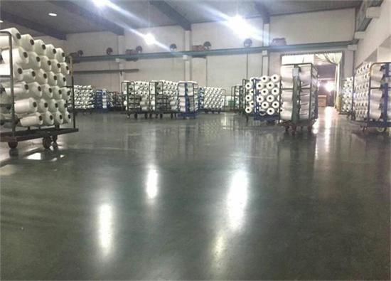 丽固地坪案例项目:吴江力佳化纤有限公司