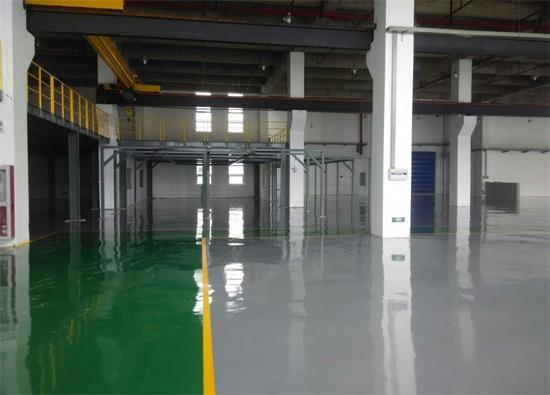 丽固地坪案例项目:江阴和美家居有限公司
