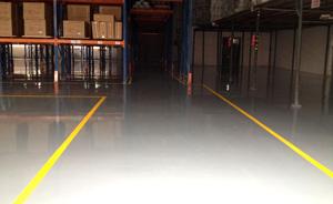 灰色水性薄涂型环氧树脂地坪