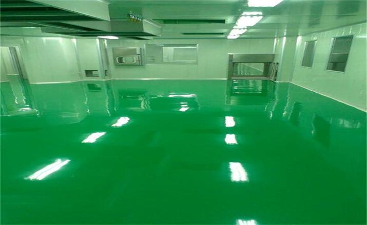 自流平油性环氧树脂地坪