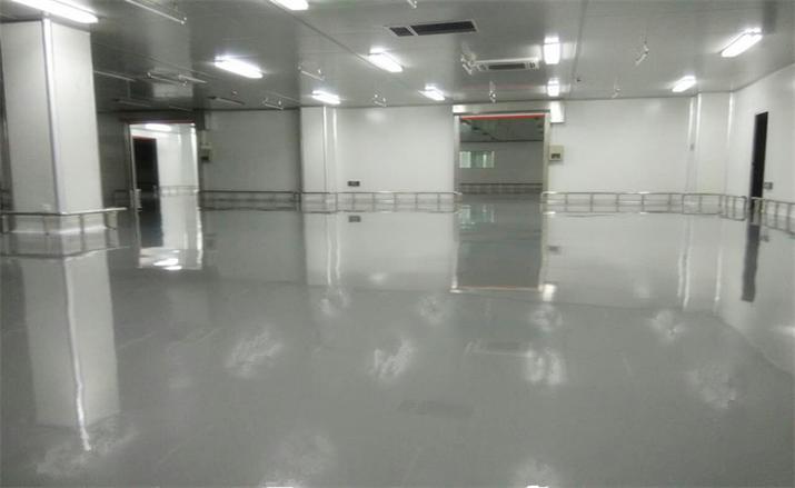 防静电自流平水性环氧树脂地坪