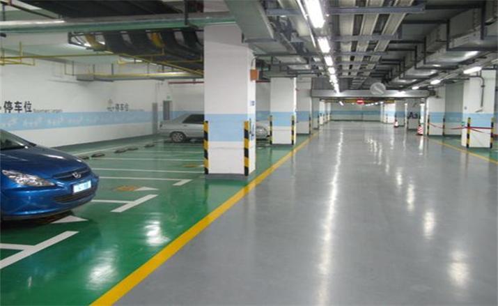 薄涂型油性环氧树脂地坪
